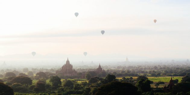 Необычные места для отдыха: Мьянма