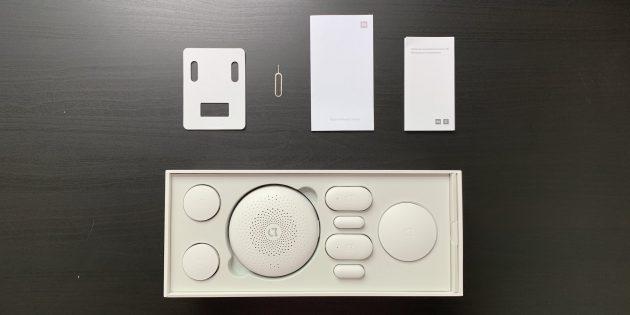 Xiaomi Mi Smart: комплектация