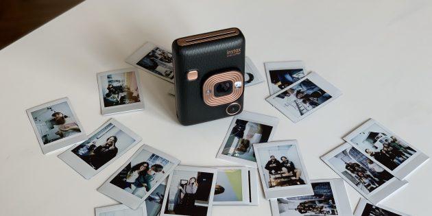 Обзор Fuji Instax Mini LiPlay —фотоаппарата моментальной печати с функцией предварительного просмотра
