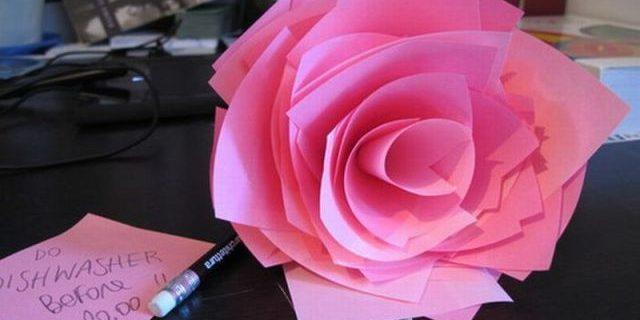 Бумага для заметок: оригами