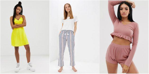 Домашняя одежда: пижамы
