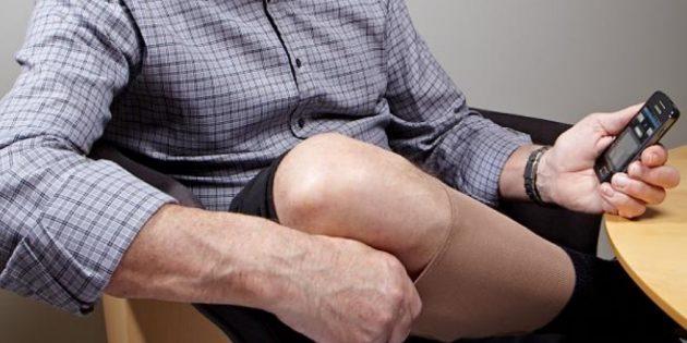 Умная одежда: компания Ohmatex ApS разрабатывает компрессионный чулок для людей, страдающих отёчностью конечностей
