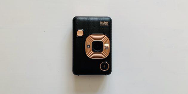 Fuji Instax Mini LiPlay: лицевая панель