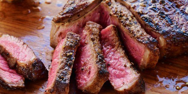 В каких продуктах витамин В: говядина