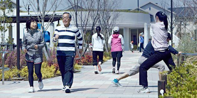 День здоровья в Фудзисаве