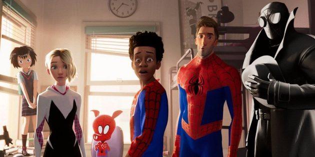 Человек-паук в мультфильме
