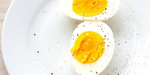 Витамин В в куриных яйцах