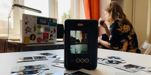 Fuji Instax Mini LiPlay: итоги