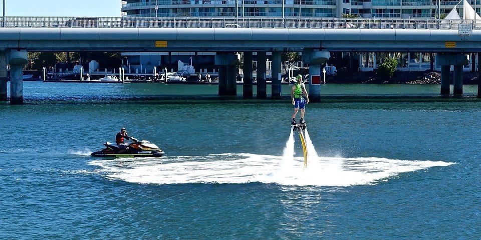 Водные развлечения: флайборд