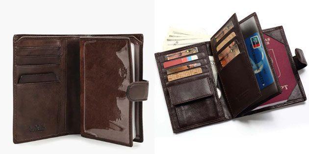 Туристический мужской кошелёк