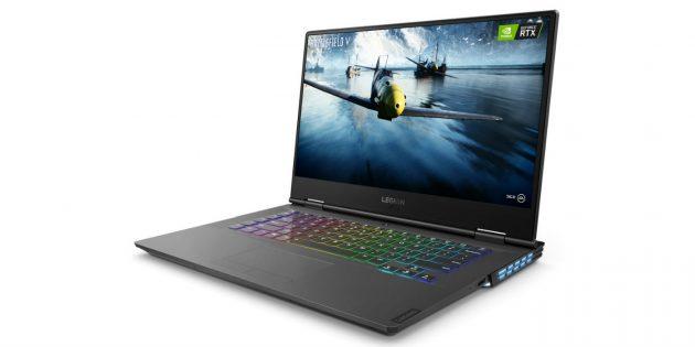 Топовые геймерские ноутбуки: Lenovo Legion Y740