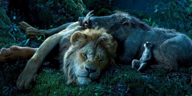 «Король Лев»: Симба, Тимон и Пумба