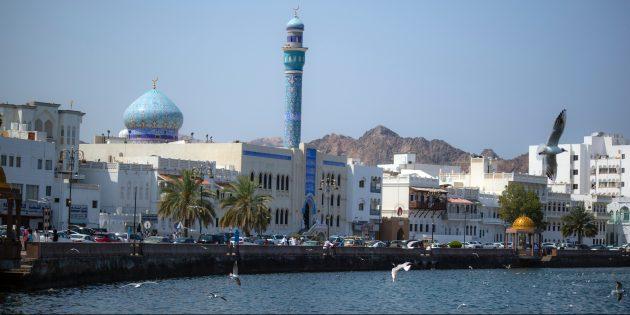 Необычные места для отдыха: Оман