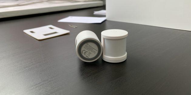 Xiaomi Mi Smart: датчики движения