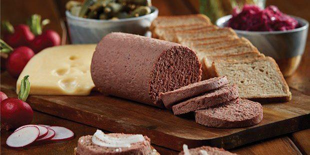 Витамин А в свиной печёночной колбасе