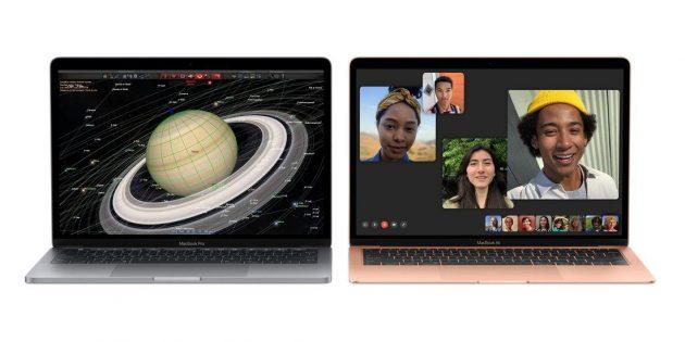 MacBook Air и MacBook Pro.