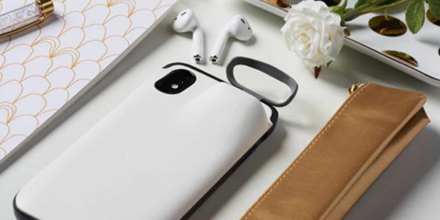 Чехол Power1 зарядит iPhone и AirPods