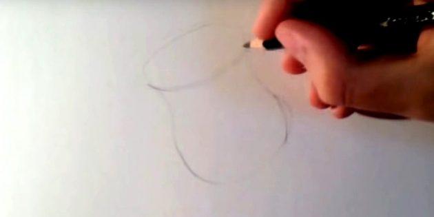 Нарисуйте что-то наподобие вазы