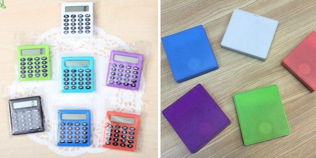 Товары для школы: калькулятор