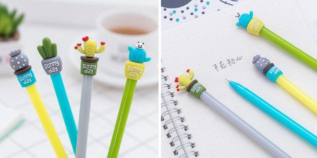 Канцелярия для школы: ручки