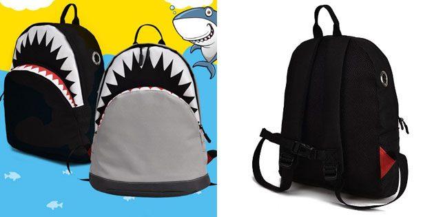 Школьный рюкзак-акула