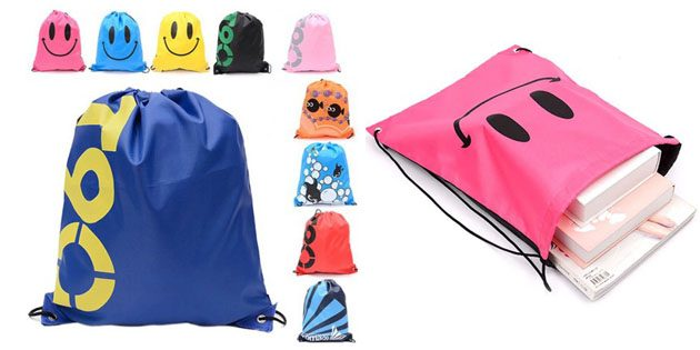 Товары для школы: сумка для сменной обуви