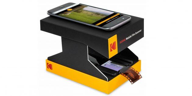 Фильм-сканер Kodak в работе