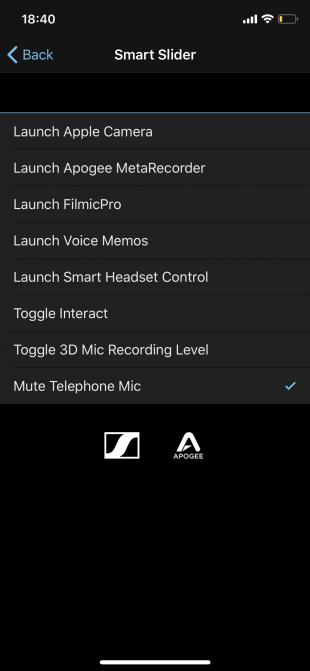 Приложение Smart Headset