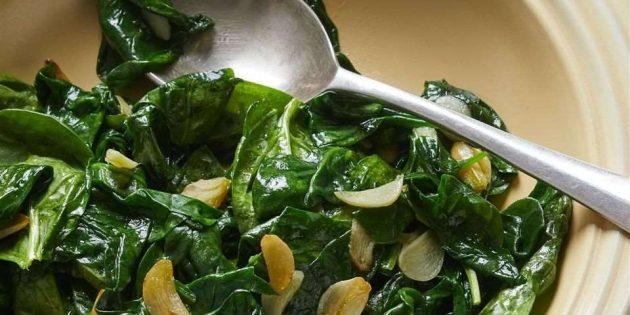 Витамин А в шпинате