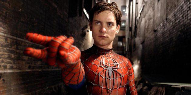 Человек-паук Тоби Магуайр