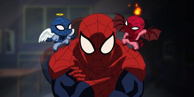 Мультфильм о пауке