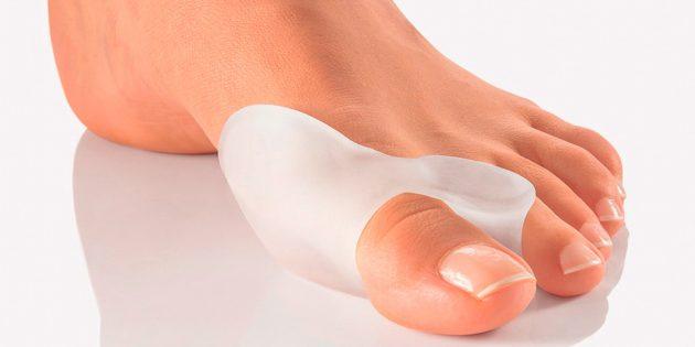 Фиксатор больших пальцев от косточки на ноге