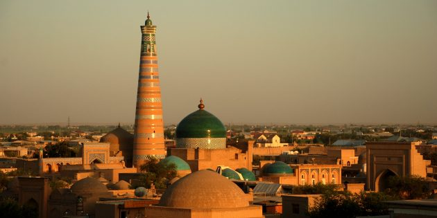 Необычные места для отдыха: Узбекистан