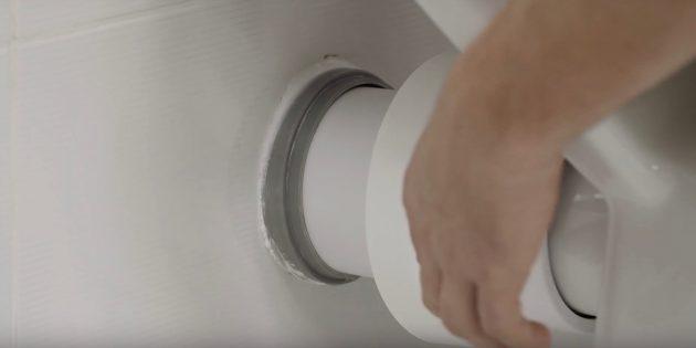 Как установить унитаз: подключитесь к канализации