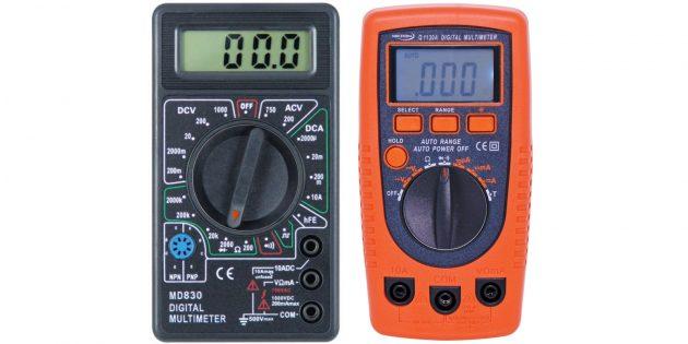 Как пользоваться мультиметром: проверить диод или цепь