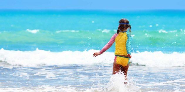 Как научить ребёнка плавать
