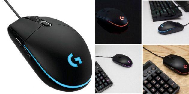 Мышь от Logitech