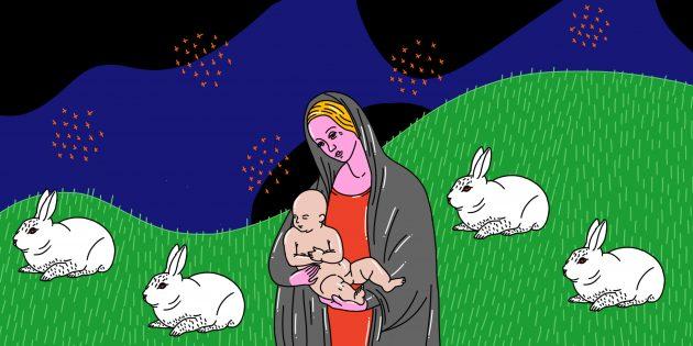 рождение ребёнка — это не про зайку и лужайку