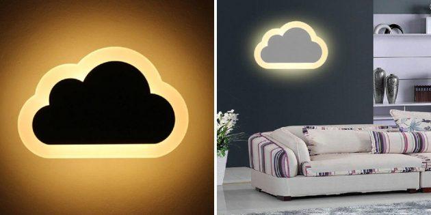 Светильник-облачко