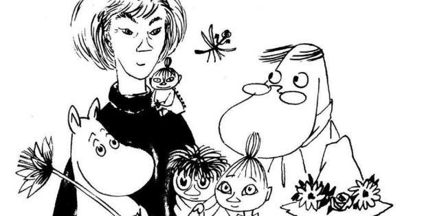 Туве Янссон и муми-тролли