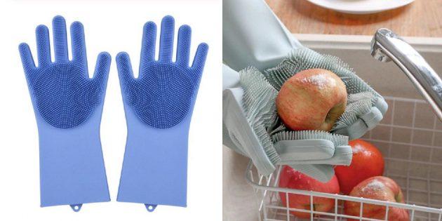 Перчатки-губки