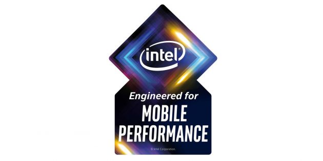 Intel стикер