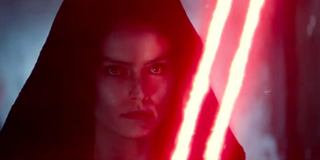 Вышел трейлер IX эпизода «Звёздных Войн». У Рей двойной меч!