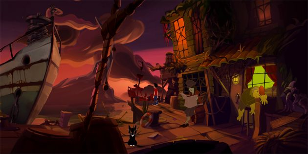 Gibbous: A Cthulhu Adventure — новая игра в Steam