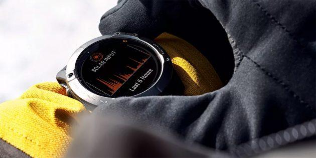 Garmin представила спортивные часы Fenix 6