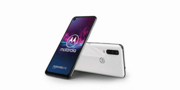 Белый Motorola One Action