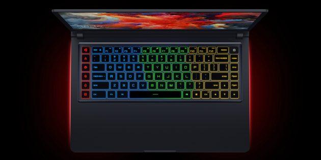 Xiaomi анонсировала ноутбуки Gaming Laptop 2021