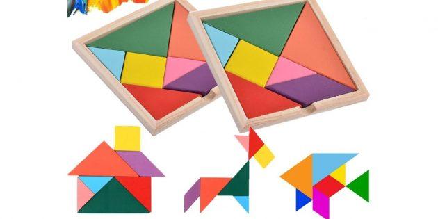 Развивающие игры для детей 6лет: танграм