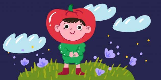 Загадки для детей 4–5 лет про овощи