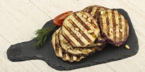 8 рецептов баклажанов на мангале для отличного пикника